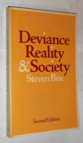 9780039102944: Deviance, Reality and Society