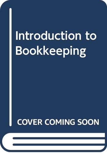 9780039103057: Introduction to Bookkeeping (Holt business texts)