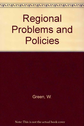 9780039103514: Regional Problems and Policies