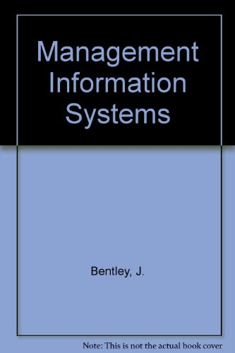 9780039103644: Management Information Systems