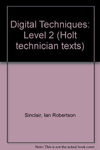 Digital Techniques : Level 2: Sinclair, Jennifer Oille