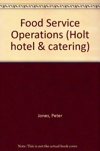 9780039104085: Food Service Operations