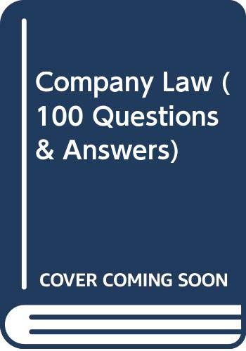 9780039104368: Company Law (100 Questions & Answers)