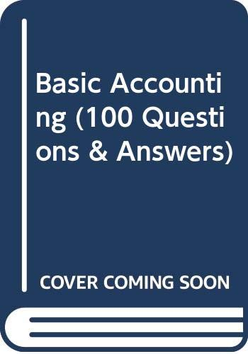 9780039104375: Basic Accounting (100 Questions & Answers)
