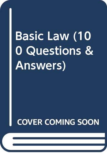 9780039105013: Basic Law (100 Questions & Answers)