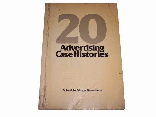 9780039105433: 20 Case Histories in Advertising