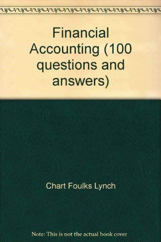 9780039106959: Financial Accounting (100 questions and answers)