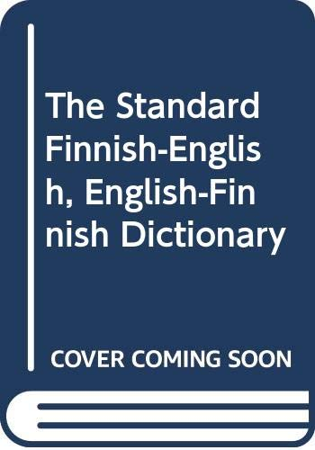 9780039107048: The Standard Finnish-English, English-Finnish Dictionary