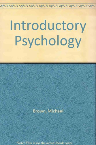 9780039107116: Introductory Psychology