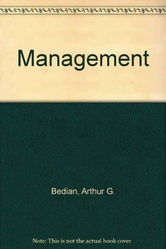 9780039107185: Management