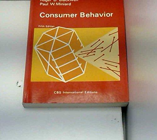 9780039107222: Consumer Behaviour