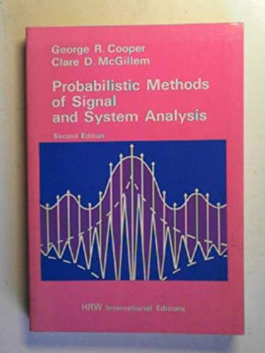 9780039107345: Probabilistic Methods of Signal and System Analysis