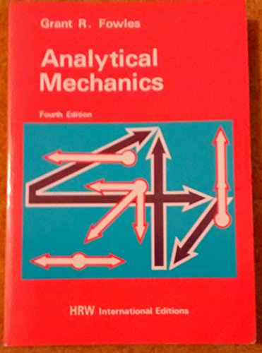 9780039107499: Analytical Mechanics