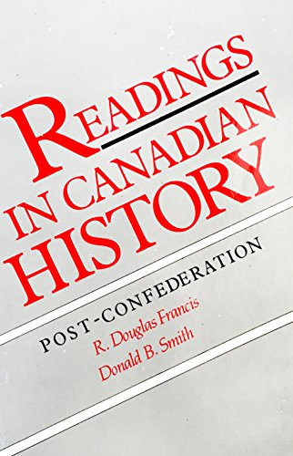9780039211073: Readings in Canadian History: Post-Confederation