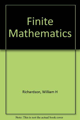 9780039220235: Finite Mathematics