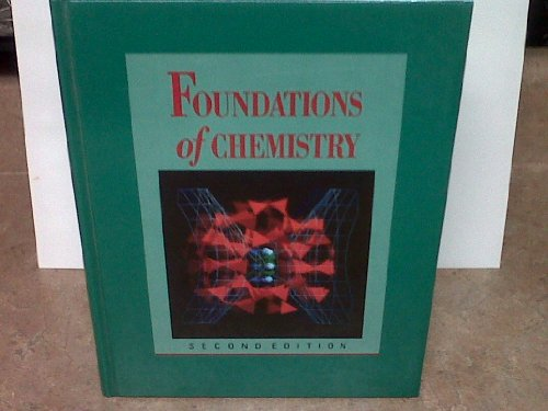 9780039222871: Foundations of Chemistry