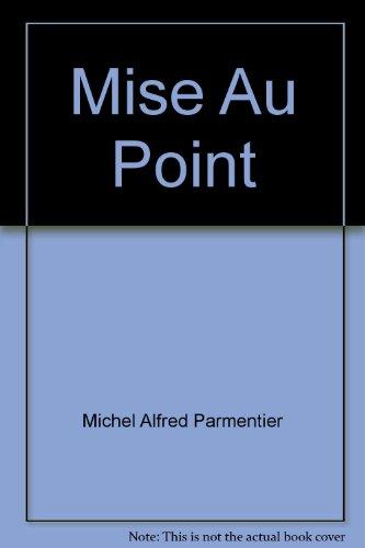 9780039225568: Mise Au Point