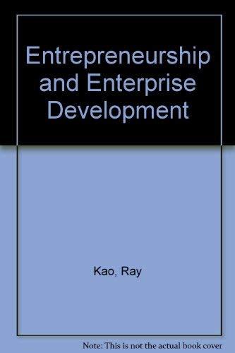 9780039225650: Entrepreneurship and Enterprise Development