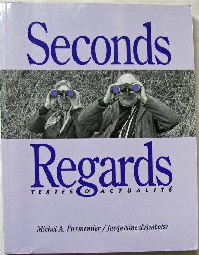 9780039227074: Seconds Regards : Manuel de lecture et de conversation
