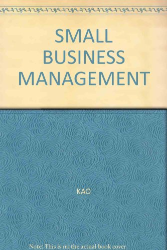 SMALL BUSINESS MANAGEMENT: KAO