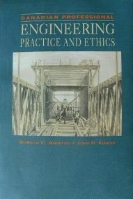 9780039228750: Canadian Professional Engineering Practice and Ethics
