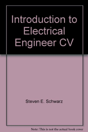 9780039230036: Introduction to Electrical Engineer CV
