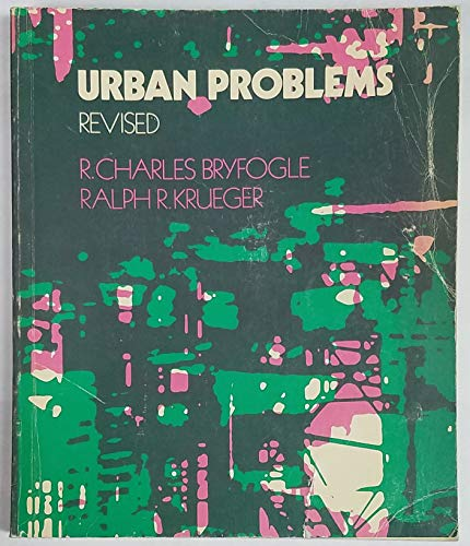Urban problems: Ralph Ray Krueger