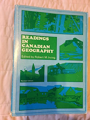 9780039254933: Readings in Canadian Geography
