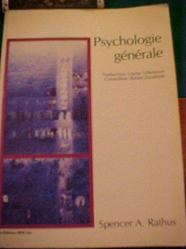 Psychologie Generale: SPENCER RATHUS
