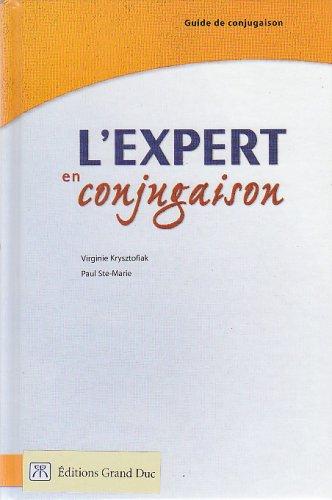 9780039287252: L'expert en conjugaison