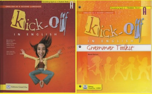 Kick-off in English Secondary Cycle 1 Student: n/a