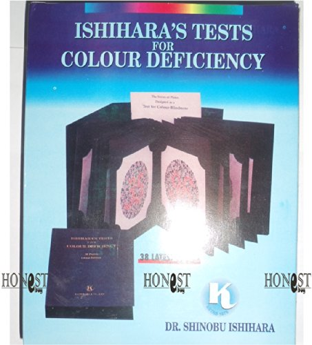 Ishihara's Tests for Colour Deficiency 2010: 14 Plate Book Concise Edition: Ishihara