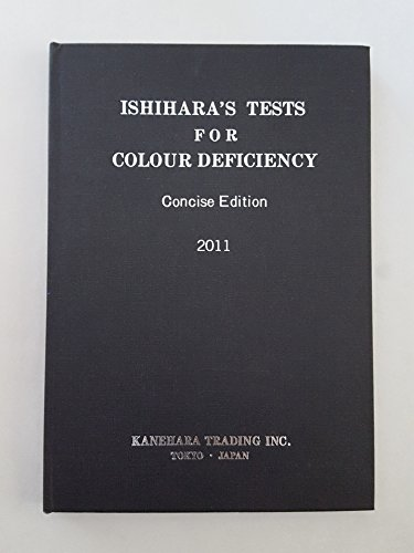 9780039474102: Ishihara's Tests for Colour Deficiency 2011: 14 Plate Book Concise Edition