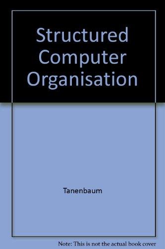 9780039510879: Structured Computer Organisation