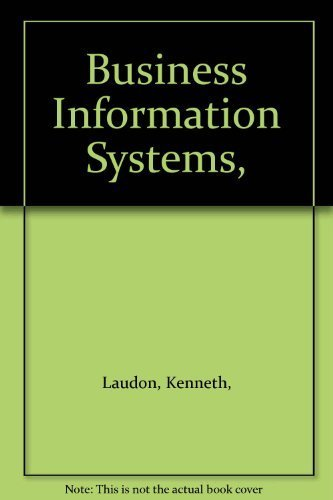 9780039987374: Business Information Systems,