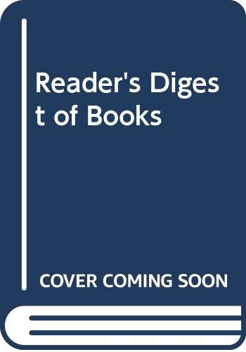 9780040100021: Reader's Digest of Books