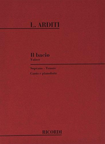 9780040324960: RICORDI ARDITI L. - BACIO - CHANT ET PIANO Classical sheets Voice solo, piano