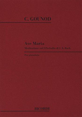 9780040337595: Ave Maria. Meditazione sul I preludio di J. S. Bach