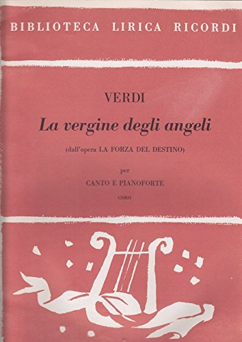 9780040346238: RICORDI VERDI G. - VERGINE DEGLI ANGELI - CHOEUR Classical sheets Choral and vocal ensembles