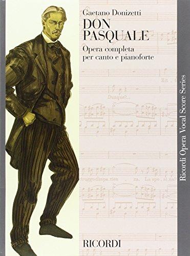 9780040420518: DONIZETTI - Don Pasquale para Canto y Piano