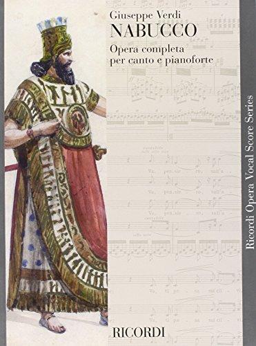 9780040423120: Nabucco - Soli SATB, SATB + piano - SCORE