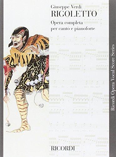 9780040423137: RICORDI VERDI G. - RIGOLETTO - CHANT ET PIANO Partition classique Vocale - chorale Voix solo, piano