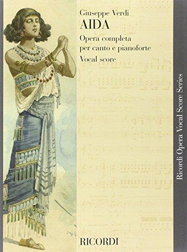 9780040446280: RICORDI VERDI G. - AIDA - CHANT ET PIANO Classical sheets Voice solo, piano