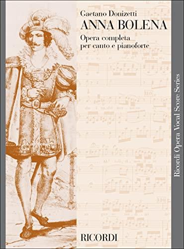 9780040454155: RICORDI DONIZETTI G. - ANNA BOLENA - CHANT ET PIANO Classical sheets Voice solo, piano