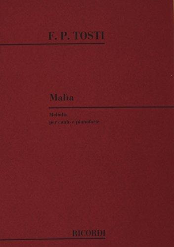 9780040522922: MALIA (MEZZOSOPRANO/BARITONO)
