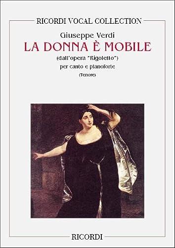 9780040544382: RICORDI VERDI G. - RIGOLETTO: LA DONNA E' MOBILE - CHANT ET PIANO Classical sheets Choral and vocal ensembles