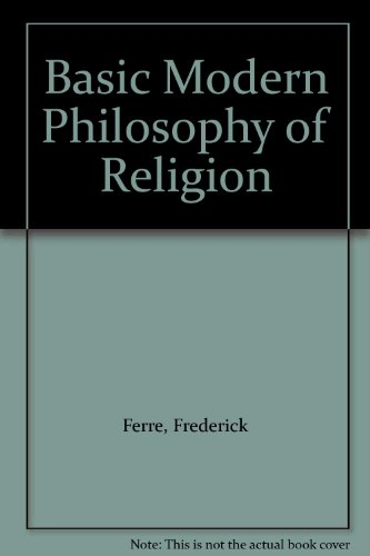9780041000160: Basic Modern Philosophy of Religion