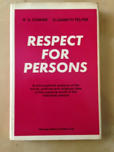 9780041000245: Respect for Persons