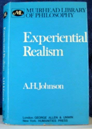 9780041000368: Experiential Realism (Muirhead Library of Philosophy)