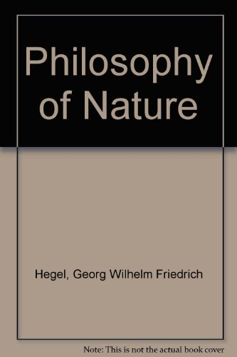9780041000436: Philosophy of Nature